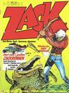 Cover for Zack (Koralle, 1972 series) #8/1974
