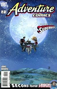 Cover Thumbnail for Adventure Comics (DC, 2009 series) #2 / 505 [Regular Direct Cover]