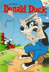 Cover Thumbnail for Donald Duck (VNU Tijdschriften, 1998 series) #5/2000