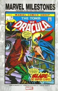 Cover Thumbnail for Marvel Milestones: Blade, Man-Thing & Satana (Marvel, 2005 series)