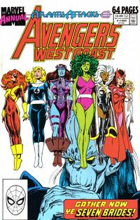 Cover Thumbnail for The West Coast Avengers Annual (Marvel, 1986 series) #4 [Direct]