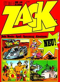Cover Thumbnail for Zack (Koralle, 1972 series) #17/1972
