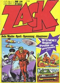 Cover Thumbnail for Zack (Koralle, 1972 series) #18/1972