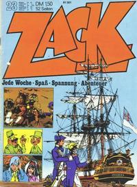 Cover Thumbnail for Zack (Koralle, 1972 series) #23/1972