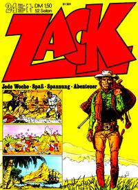 Cover Thumbnail for Zack (Koralle, 1972 series) #24/1972