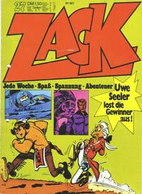 Cover Thumbnail for Zack (Koralle, 1972 series) #27/1972