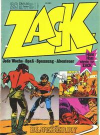 Cover Thumbnail for Zack (Koralle, 1972 series) #28/1972