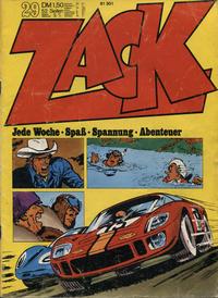 Cover Thumbnail for Zack (Koralle, 1972 series) #29/1972