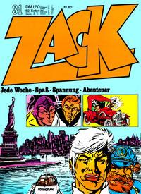 Cover Thumbnail for Zack (Koralle, 1972 series) #31/1972