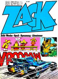 Cover Thumbnail for Zack (Koralle, 1972 series) #32/1972