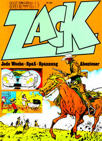 Cover Thumbnail for Zack (Koralle, 1972 series) #35/1972