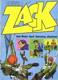 Cover Thumbnail for Zack (Koralle, 1972 series) #40/1972