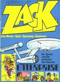 Cover Thumbnail for Zack (Koralle, 1972 series) #43/1972