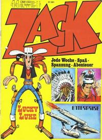 Cover Thumbnail for Zack (Koralle, 1972 series) #44/1972