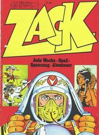 Cover Thumbnail for Zack (Koralle, 1972 series) #45/1972