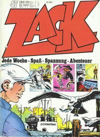 Cover Thumbnail for Zack (Koralle, 1972 series) #47/1972