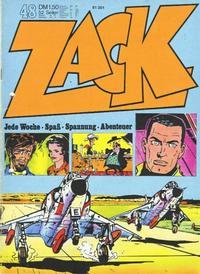 Cover Thumbnail for Zack (Koralle, 1972 series) #48/1972