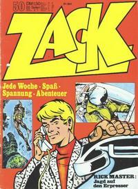 Cover Thumbnail for Zack (Koralle, 1972 series) #50/1972