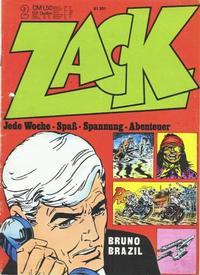 Cover Thumbnail for Zack (Koralle, 1972 series) #2/1973