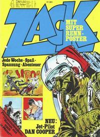 Cover Thumbnail for Zack (Koralle, 1972 series) #4/1973