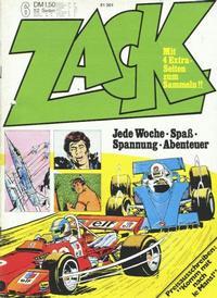 Cover Thumbnail for Zack (Koralle, 1972 series) #6/1973