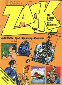 Cover Thumbnail for Zack (Koralle, 1972 series) #7/1973