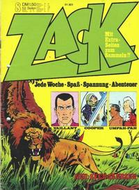 Cover Thumbnail for Zack (Koralle, 1972 series) #8/1973
