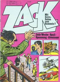 Cover Thumbnail for Zack (Koralle, 1972 series) #9/1973
