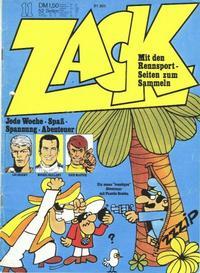 Cover Thumbnail for Zack (Koralle, 1972 series) #11/1973