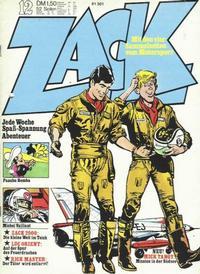Cover Thumbnail for Zack (Koralle, 1972 series) #12/1973