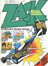Cover Thumbnail for Zack (Koralle, 1972 series) #14/1973