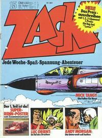 Cover Thumbnail for Zack (Koralle, 1972 series) #15/1973