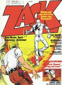 Cover Thumbnail for Zack (Koralle, 1972 series) #17/1973