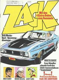 Cover Thumbnail for Zack (Koralle, 1972 series) #20/1973