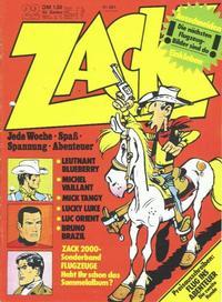 Cover Thumbnail for Zack (Koralle, 1972 series) #22/1973