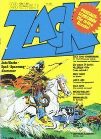 Cover Thumbnail for Zack (Koralle, 1972 series) #23/1973