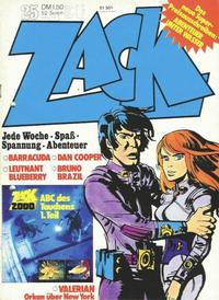 Cover Thumbnail for Zack (Koralle, 1972 series) #25/1973