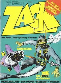 Cover Thumbnail for Zack (Koralle, 1972 series) #26/1973