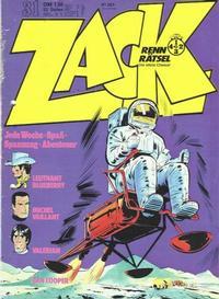 Cover Thumbnail for Zack (Koralle, 1972 series) #31/1973