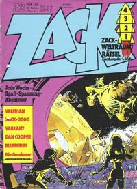 Cover Thumbnail for Zack (Koralle, 1972 series) #32/1973
