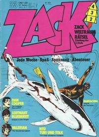 Cover Thumbnail for Zack (Koralle, 1972 series) #33/1973