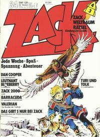 Cover Thumbnail for Zack (Koralle, 1972 series) #34/1973