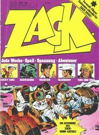 Cover Thumbnail for Zack (Koralle, 1972 series) #36/1973
