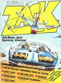 Cover Thumbnail for Zack (Koralle, 1972 series) #38/1973