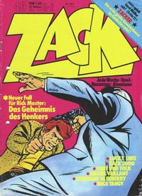 Cover Thumbnail for Zack (Koralle, 1972 series) #40/1973