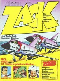 Cover Thumbnail for Zack (Koralle, 1972 series) #41/1973