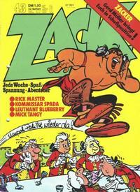 Cover Thumbnail for Zack (Koralle, 1972 series) #43/1973
