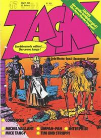 Cover Thumbnail for Zack (Koralle, 1972 series) #47/1973