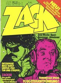 Cover Thumbnail for Zack (Koralle, 1972 series) #48/1973