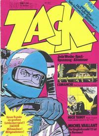 Cover Thumbnail for Zack (Koralle, 1972 series) #50/1973